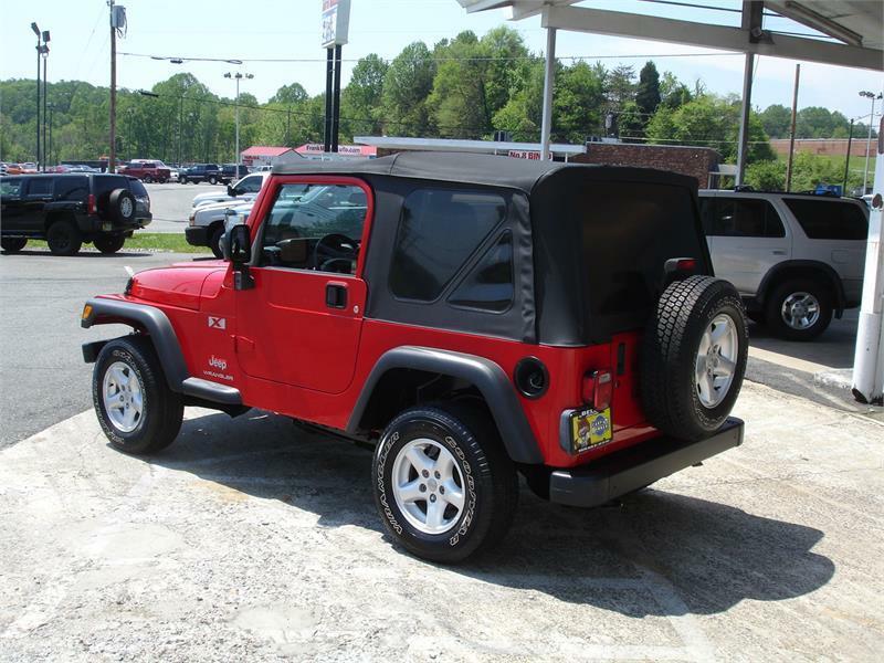2004 Jeep Wrangler 2dr X 4WD SUV - Winston Salem NC