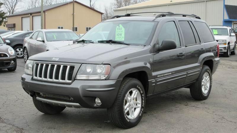 2004 Jeep Grand Cherokee 4dr Laredo 4wd Suv In Lapeer Mi