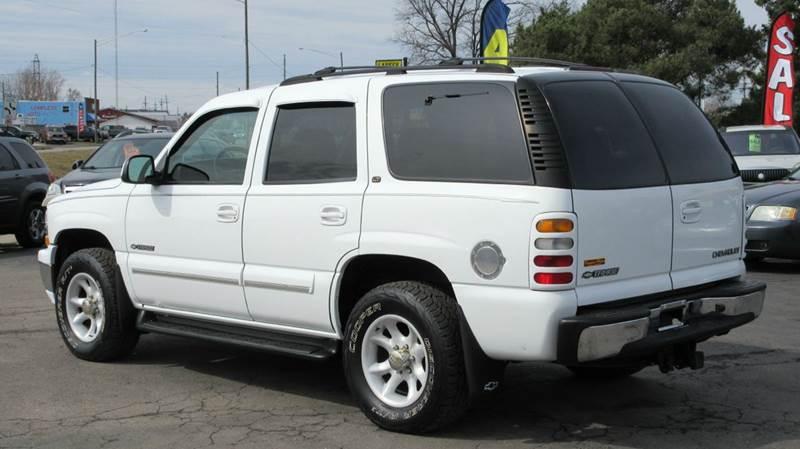 2001 Chevrolet Tahoe Lt 4wd 4dr Suv In Lapeer Mi