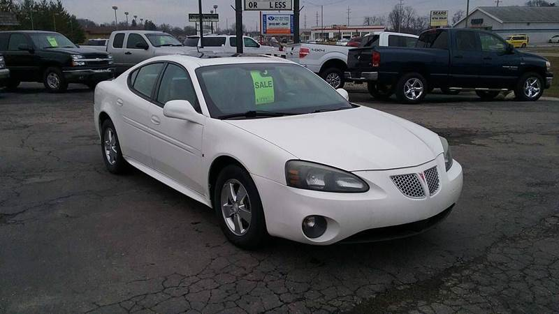 2007 pontiac grand prix 4dr sedan in lapeer mi thompson for Thompson motors lapeer mi