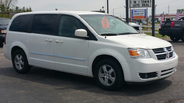 2008 dodge grand caravan sxt extended mini van 4dr in for Thompson motors lapeer mi