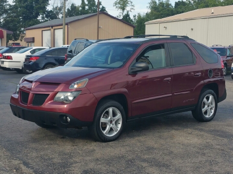 Pontiac aztek for sale michigan for Thompson motors lapeer mi