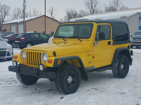 2002 jeep wrangler for sale atlanta ga for Thompson motors lapeer mi