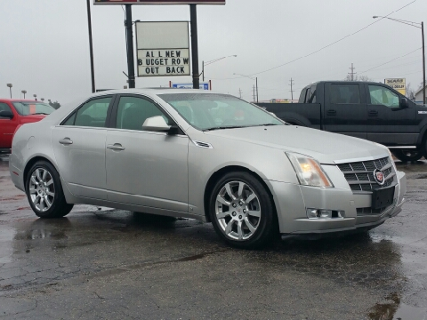 Used cadillac cts for sale for Thompson motors lapeer mi