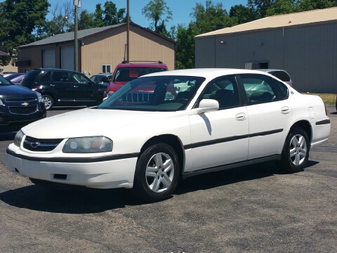 2004 chevrolet impala for sale michigan for Thompson motors lapeer mi