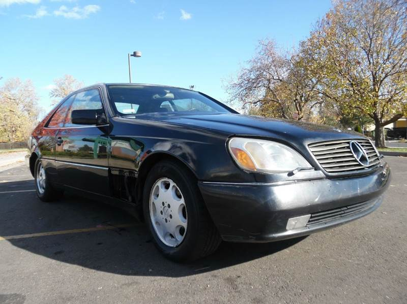 1995 mercedes benz s class s600 2dr coupe in lakewood co for 1995 mercedes benz s600