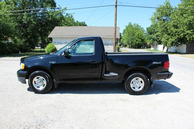 2001 ford f 150 2dr regular cab xl 2wd flareside sb in claremore ok smalygo auto wholesale. Black Bedroom Furniture Sets. Home Design Ideas