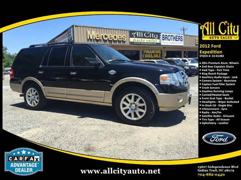 2012 Ford Expedition  sc 1 th 194 & Ford Used Cars Pickup Trucks For Sale Indian Trail All City Auto Sales markmcfarlin.com