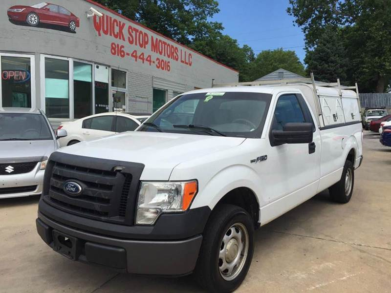 2010 ford f 150 4x2 xl 2dr regular cab styleside 6 5 ft sb in kansas city mo quick stop motors. Black Bedroom Furniture Sets. Home Design Ideas