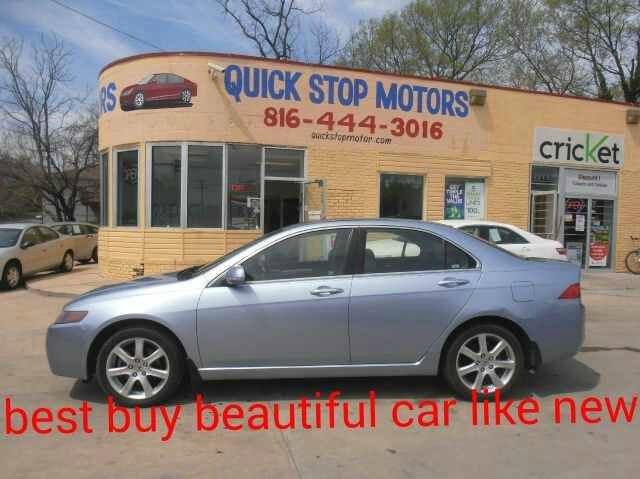 used 2004 acura tsx 6 speed mt in kansas city mo at quick. Black Bedroom Furniture Sets. Home Design Ideas