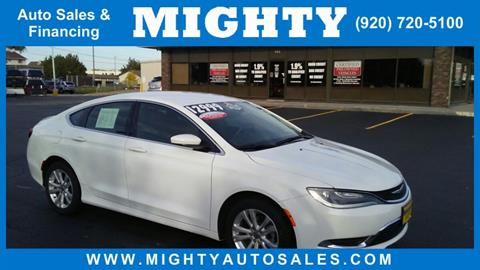 2016 Chrysler 200 for sale in Neenah, WI