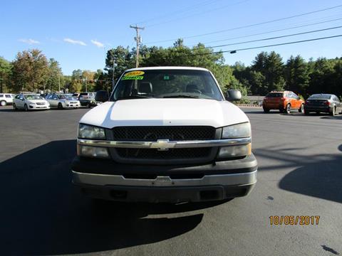 2004 Chevrolet Silverado 1500 for sale in Goffstown, NH