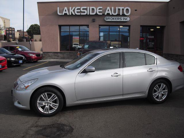 2011 infiniti g37 sedan g37x awd in colorado springs. Black Bedroom Furniture Sets. Home Design Ideas