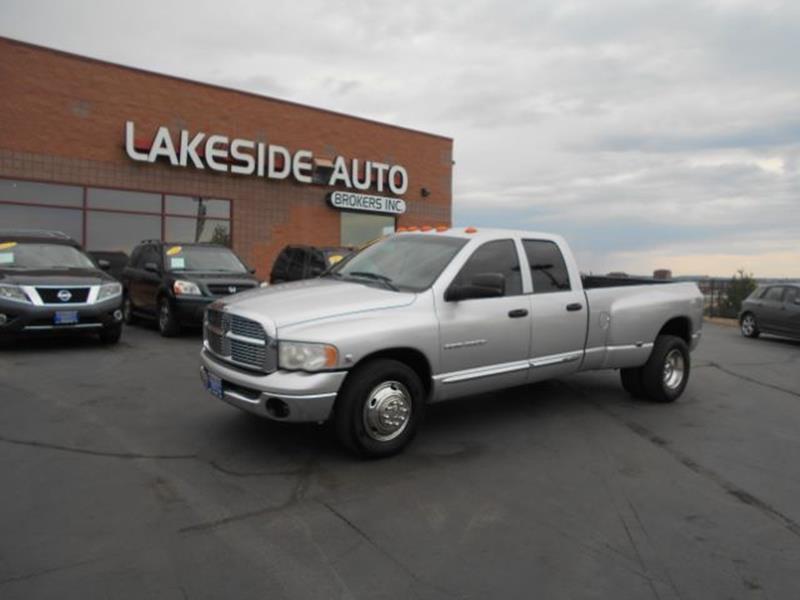2005 Dodge Ram Pickup 3500 Laramie Quad Cab Long Bed 2WD DRW - Colorado Springs CO