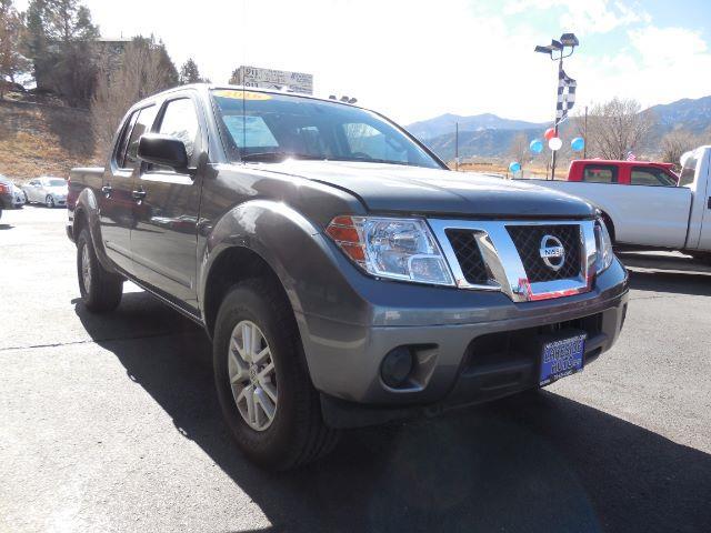 2016 Nissan Frontier Pro 4x Crew Cab 5at 4wd In Colorado