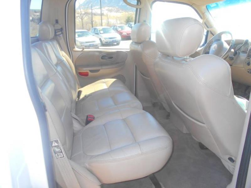 2001 Ford F-150 Lariat SuperCrew 4WD - Colorado Springs CO