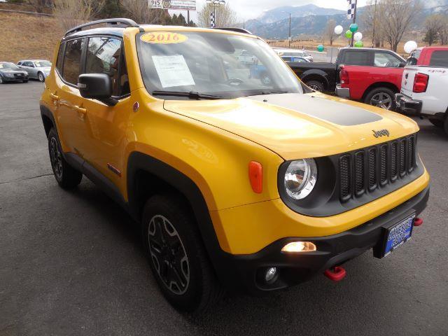 2016 Jeep Renegade 4x4 Trailhawk 4dr SUV - Colorado Springs CO
