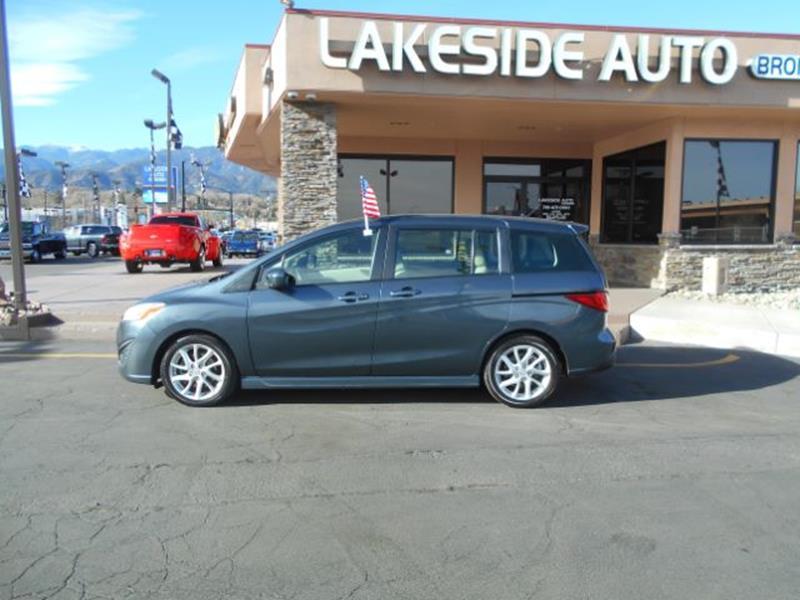 2012 Mazda MAZDA5 Touring 4dr Mini-Van - Colorado Springs CO