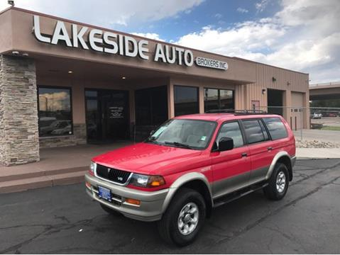 1998 Mitsubishi Montero Sport for sale in Colorado Springs, CO