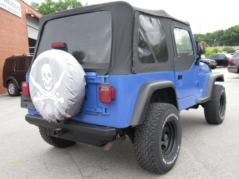 1997 Jeep Wrangler 2dr Se 4wd Suv In Raleigh Nc Euro