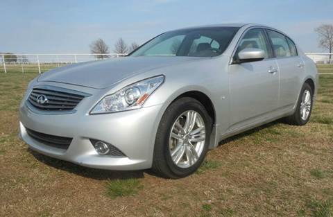 2015 Infiniti Q40 for sale in Mounds, OK
