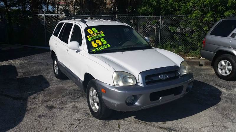 2005 hyundai santa fe gls 4dr suv in cocoa fl easy credit auto sales. Black Bedroom Furniture Sets. Home Design Ideas