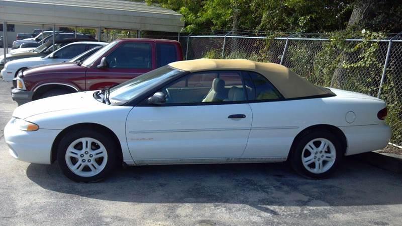 1999 Chrysler Sebring JX 2dr Convertible - Cocoa FL