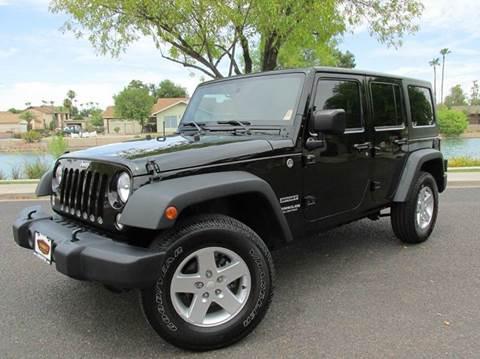 2015 jeep wrangler for sale arizona. Black Bedroom Furniture Sets. Home Design Ideas
