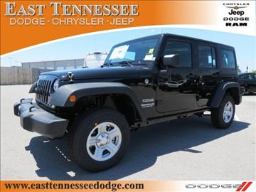 2017 Jeep Wrangler Unlimited for sale in Crossville, TN