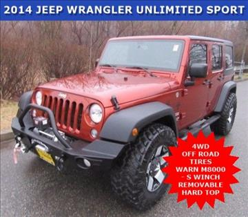 2014 Jeep Wrangler Unlimited for sale in Wayne, NJ