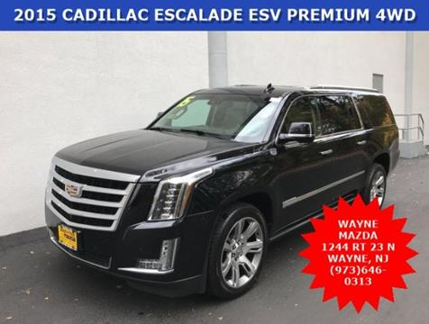 2015 Cadillac Escalade ESV for sale in Wayne, NJ