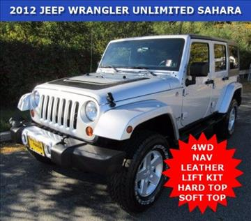 2012 Jeep Wrangler Unlimited for sale in Wayne, NJ