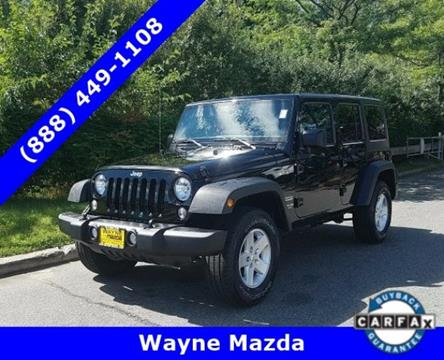 2015 Jeep Wrangler Unlimited for sale in Wayne NJ