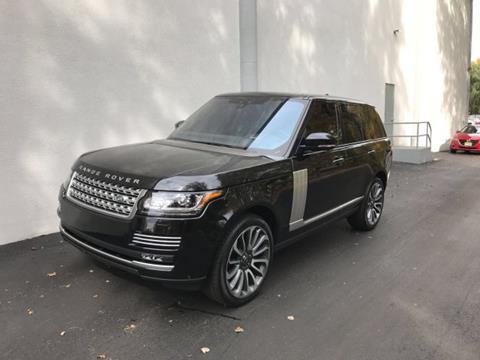 2017 Land Rover Range Rover for sale in Wayne NJ