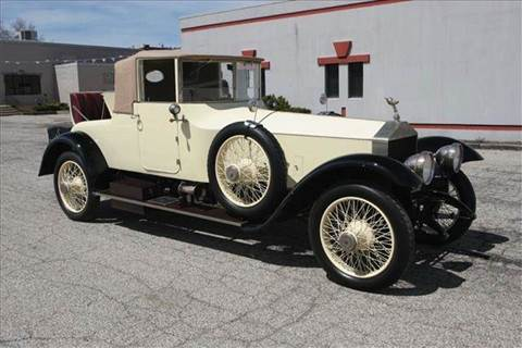 1921 Rolls-Royce SILVER GHOST CABRIOLET