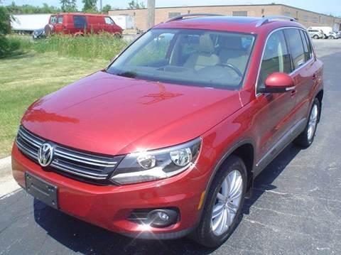 2013 Volkswagen Tiguan for sale in Mount Prospect, IL