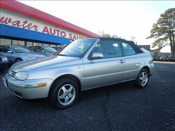 2000 Volkswagen Cabrio for sale in Norfolk, VA