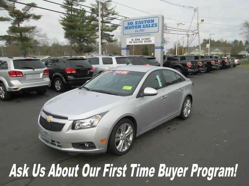 Chevrolet Cruze For Sale In Massachusetts
