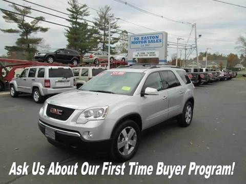 Gmc Acadia For Sale In South Easton Ma