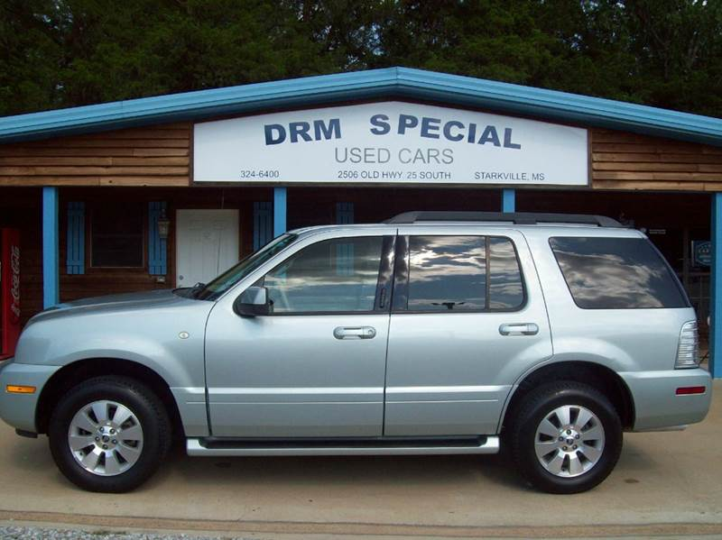 2006 mercury mountaineer luxury 4dr suv in starkville ms drm special used cars. Black Bedroom Furniture Sets. Home Design Ideas
