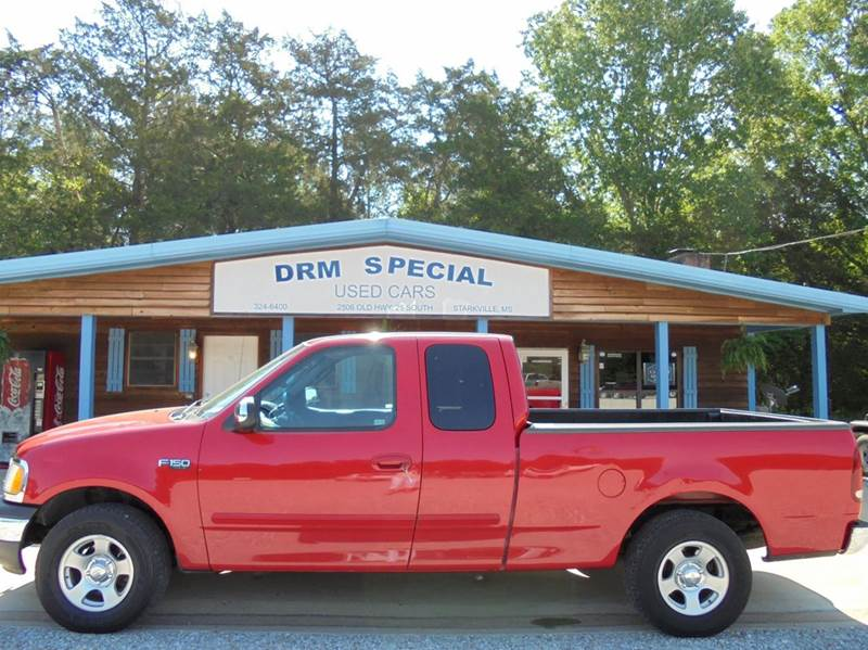 2002 Ford F-150 4dr SuperCab XLT 2WD Styleside SB - Starkville MS