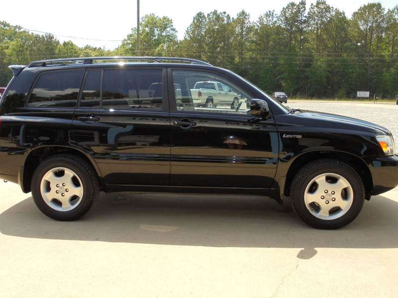 2005 Toyota Highlander AWD Limited 4dr SUV w/3rd Row - Starkville MS