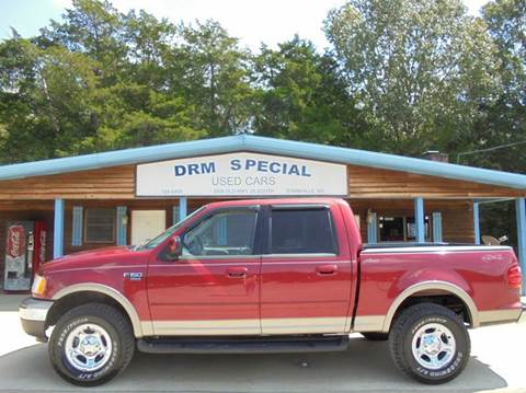 2002 Ford F-150 for sale in Starkville, MS