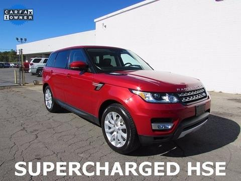2015 Land Rover Range Rover Sport for sale in Madison, NC