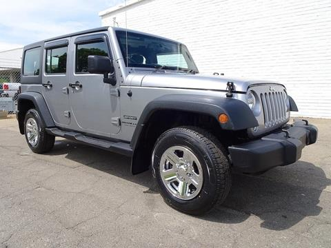 Right Hand Drive Vehicles For Sale >> 2014 Jeep Wrangler Unlimited For Sale In Madison Nc