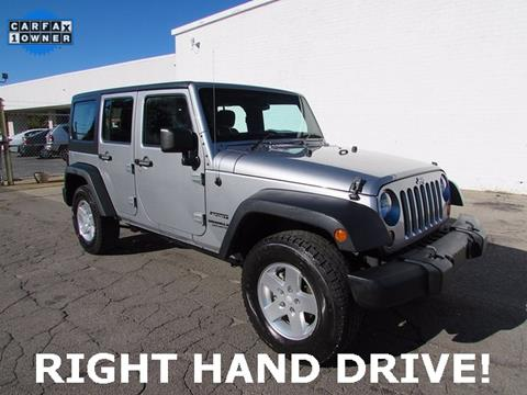 2013 Jeep Wrangler Unlimited for sale in Madison, NC