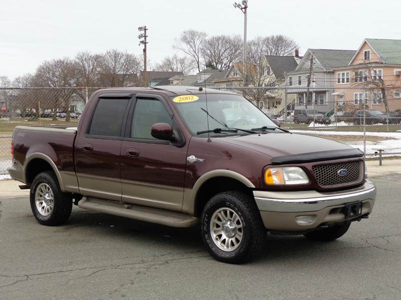 2002 Ford F-150 King Ranch 4dr SuperCrew 4WD Styleside SB - Somerville MA