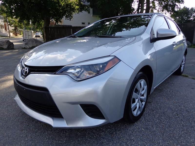 2014 Toyota Corolla LE 4dr Sedan - Somerville MA