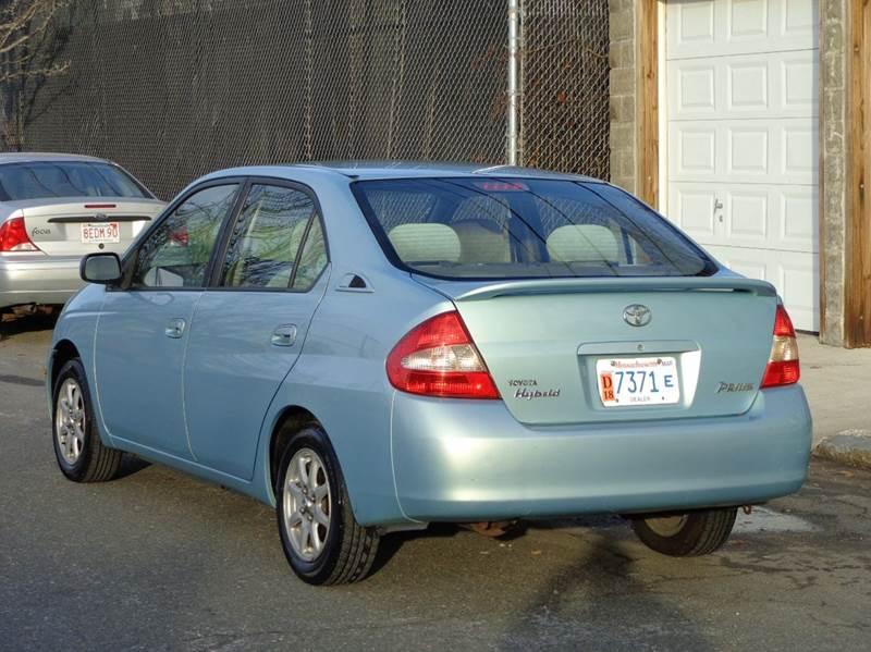 Toyota Prius Dr Sedan In Somerville MA Broadway Auto Sales - 2003 prius