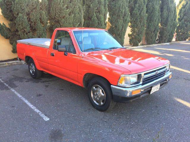 1992 toyota pickup standard cab long bed in fremont ca perfect auto sales. Black Bedroom Furniture Sets. Home Design Ideas